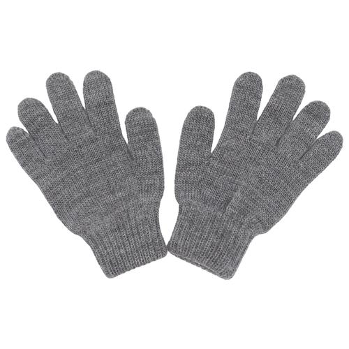 Перчатки Button Blue размер 18, серый, Перчатки и варежки  - купить со скидкой