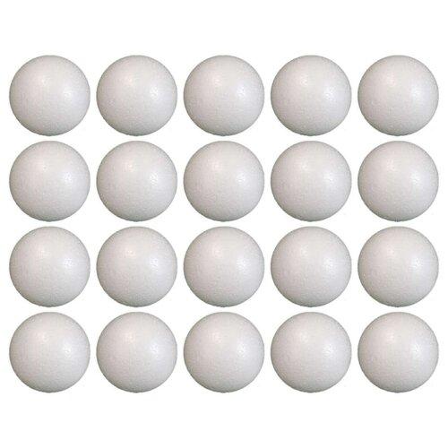 Купить Niki Шар из пенопласта Ø4 см / гладкий (набор 20шт), Декоративные элементы и материалы