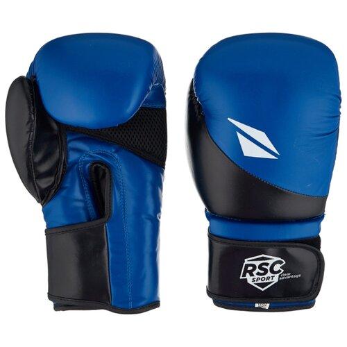 Боксерские перчатки RSC sport BF BX 023 синий/черный 12 oz