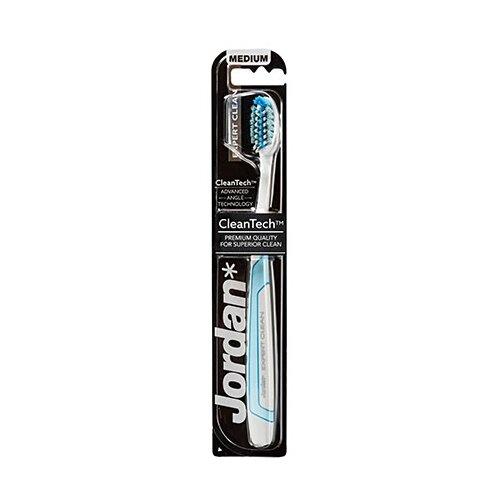 Зубная щетка Jordan Expert Clean medium, голубой щетка elephant 433919 голубой черный