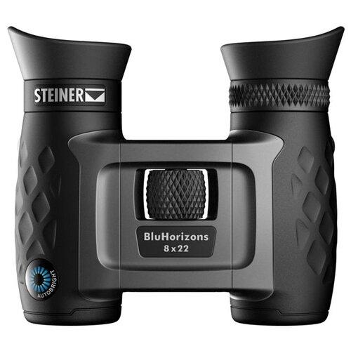 Фото - Бинокль Steiner BluHorizons 8x22 черный/серебристый бинокль steiner 8x42 skyhawk 4 0 черный