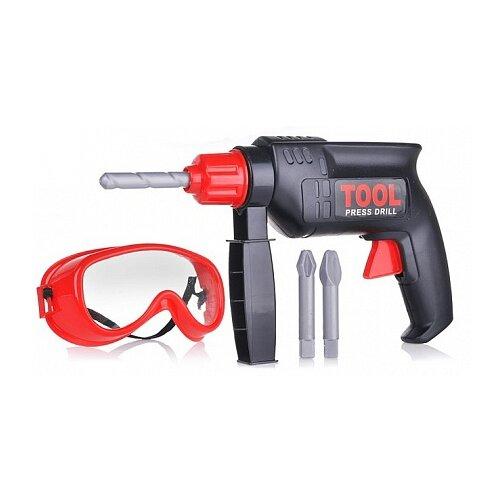 Купить Cayee дрель-перфоратор c аксессуарами KY1068-111B, Детские наборы инструментов