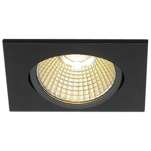 Встраиваемый светильник SLV 114390 slv потолочный светодиодный светильник slv senser square 162983