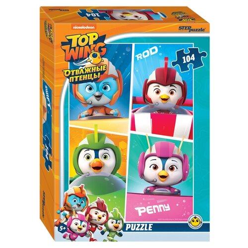 Мозаика puzzle 104 Отважные птенцы (Никелодеон)