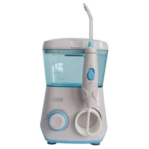 Ирригатор GESS Aqua Pro, белый/голубой