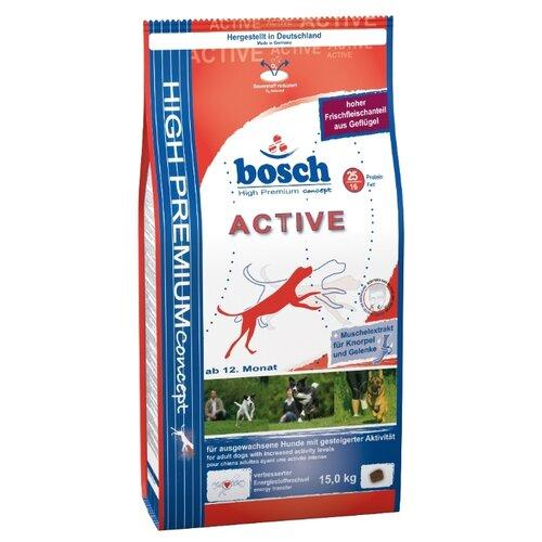 Сухой корм для собак Bosch Active 15 кг