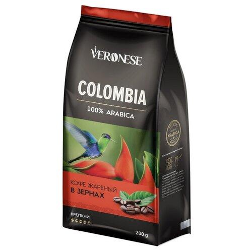 Кофе в зернах Veronese Colombia, арабика, 200 г статуэтка слонёнок veronese
