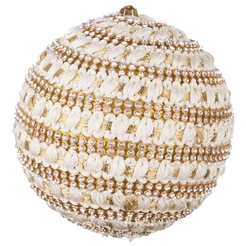 Набор шаров KARLSBACH 07536, золотистый, 6 шт.