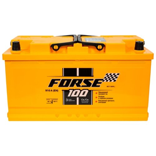 Аккумулятор Forse 6СТ-100VL аккумулятор forse 6ст 65vl jis о п
