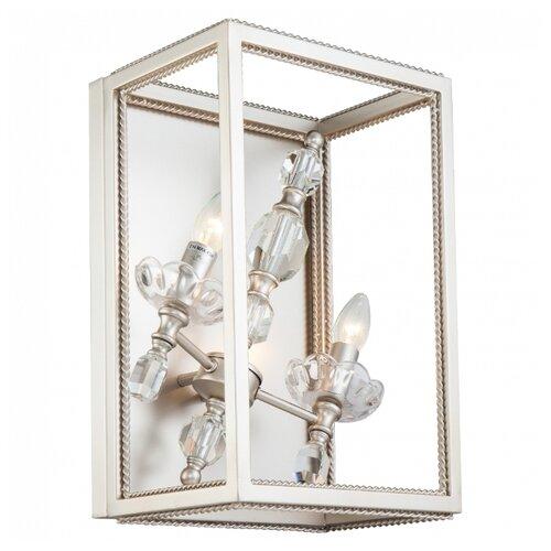 Фото - Настенный светильник Lucia Tucci Inessa W3850.2 Silver, 80 Вт настенный светильник lucia tucci ashanti w1250 2 blu