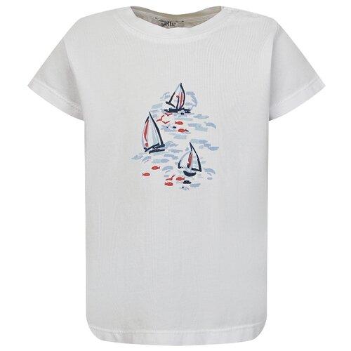Купить Футболка Aletta размер 68, белый, Футболки и рубашки