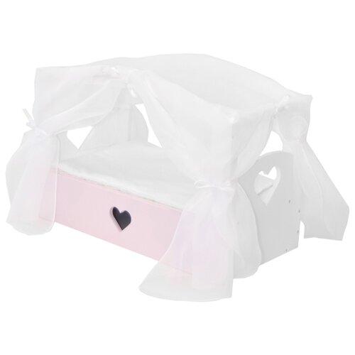 Купить PAREMO Кроватка Любимая кукла (PFD120-79 - PFD120-83) элис/мия, Мебель для кукол