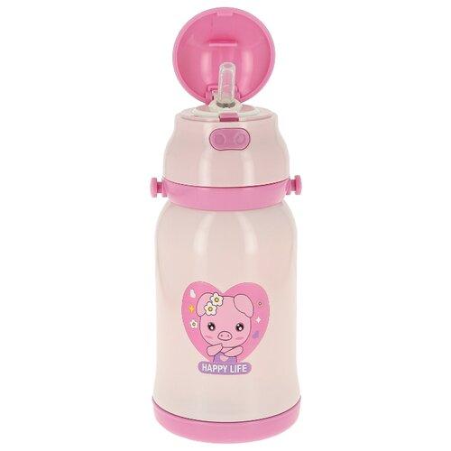 Термос детский Edenberg EB-3522, объем 400 мл, розовый