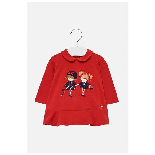 Платье Mayoral размер 80, красный, Платья и юбки  - купить со скидкой