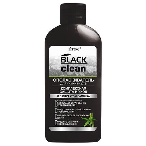 Купить Витэкс ополаскиватель для полости рта Black clean Комплексная защита и уход, 285 мл