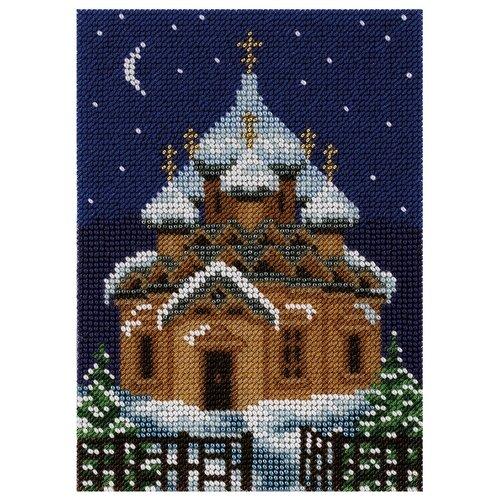 Купить Klart Набор для вышивания бисером Храм 18 х 13 см (8-151), Наборы для вышивания