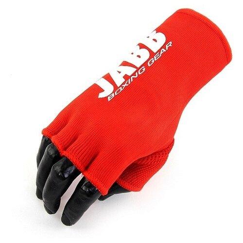 Митенки для бокса Jabb JE-3016, красные, размер: L
