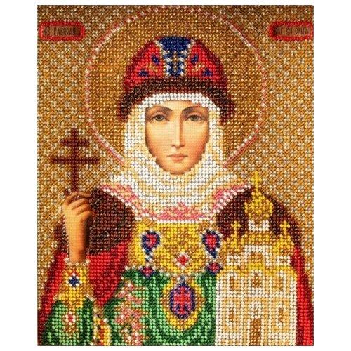 Купить Радуга бисера Набор для вышивания бисером Святая Ольга 12 x 14.5 см (В-341), Наборы для вышивания