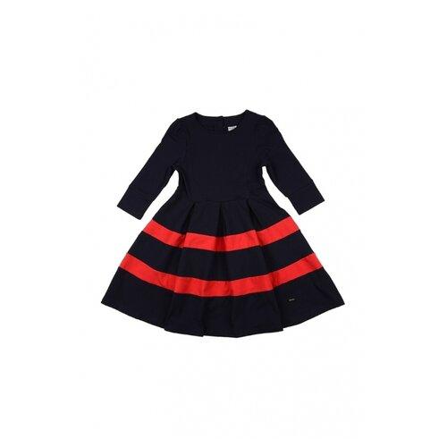Платье Mini Maxi размер 146, синий/красный платье oodji ultra цвет красный белый 14001071 13 46148 4512s размер xs 42 170