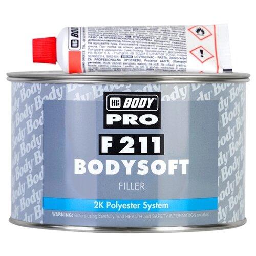 Комплект (шпатлевка, отвердитель) HB BODY PRO F211 Bodysoft 3 кг