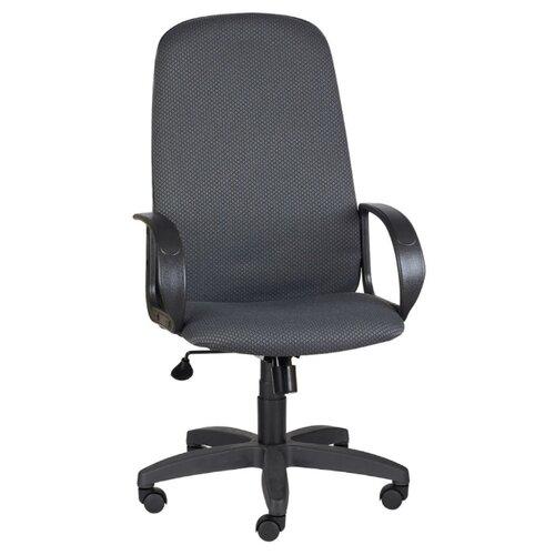 цена на Компьютерное кресло МЕБЕЛЬТОРГ Амбасадор ULTRA для руководителя, обивка: текстиль, цвет: темно-серый B-40