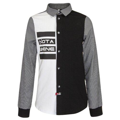 Рубашка Nota Bene размер 128, черный