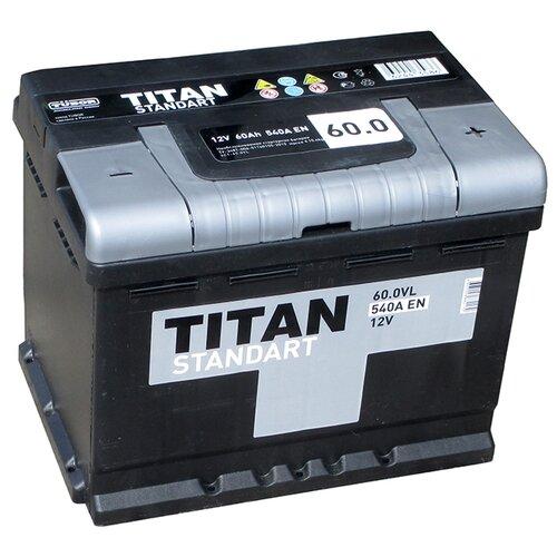 Автомобильный аккумулятор TITAN STANDART 6CT-60.0 VL