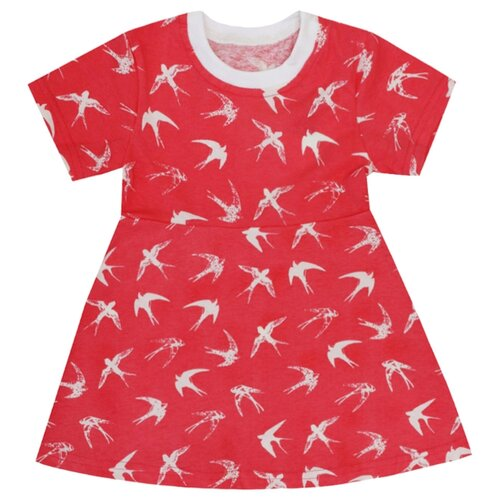 Купить Платье KotMarKot Лето 2020 размер 98, красный, Платья и сарафаны