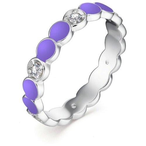 АЛЬКОР Кольцо с 6 фианитами из серебра 01-1303-ЭМ69-00, размер 18 алькор кольцо с 14 фианитами из серебра 01 1305 эм69 00 размер 18
