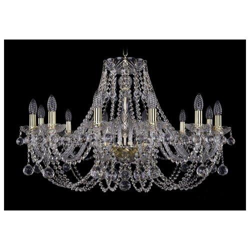 Люстра Bohemia Ivele Crystal 1406/12/300/G/Balls, E14, 480 Вт