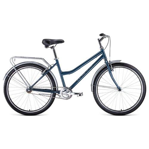 Городской велосипед FORWARD Barcelona 26 1.0 (2020) серый 17