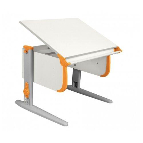 Купить Стол ДЭМИ СУТ-24 75x55 см белый/оранжевый/серый, Парты и столы