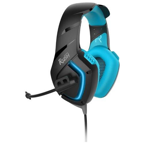 Компьютерная гарнитура SmartBuy Rush Skythe черный/синий