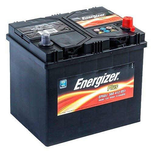 Автомобильный аккумулятор Energizer Plus EP60J