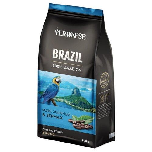 Кофе в зернах Veronese Brazil, арабика, 200 г цена 2017
