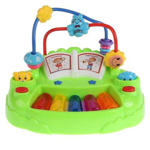 Развивающая игрушка TONG DE Пианино (958-7) зеленый цена 2017
