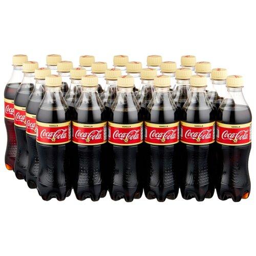 Газированный напиток Coca-Cola Vanilla, 0.5 л, 24 шт.