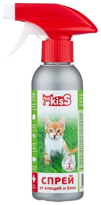 Ms.Kiss спрей от блох и клещей репеллентный