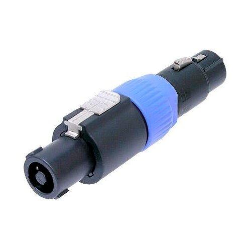 Фото - Neutrik NA3MP адаптер-переходник, 1/4 TRS штекер (Jack 6.35мм « переходник neutrik na4mp j