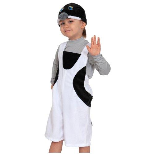 Купить Костюм КарнавалOFF Стриж плюш (3095), белый/черный, размер 92-122, Карнавальные костюмы