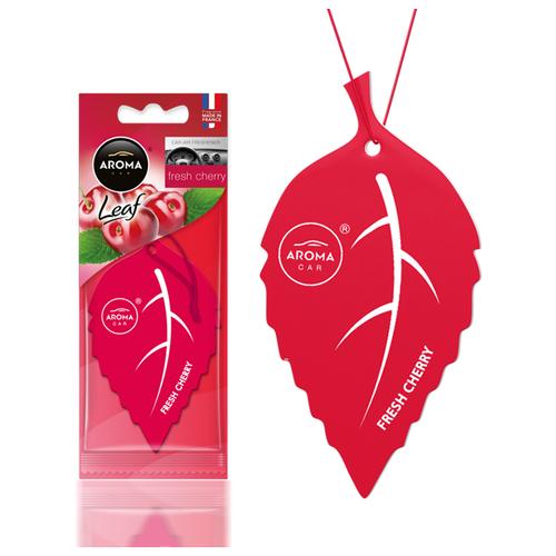 Ароматизатор автомобильный (подвесной) Aroma Car Leaf, Fresh Cherry