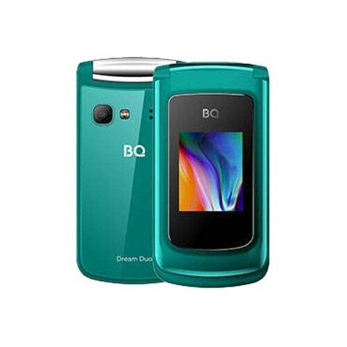 Телефон BQ 2433 Dream DUO зеленый телефон
