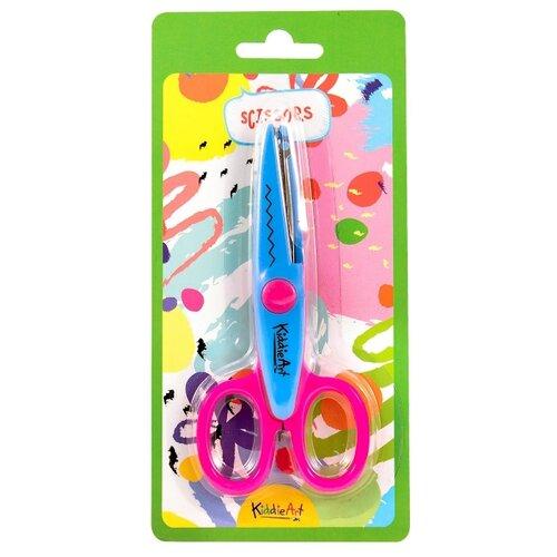 KiddieArt Ножницы Зиг-Заг 12 см розово-голубой  - купить со скидкой