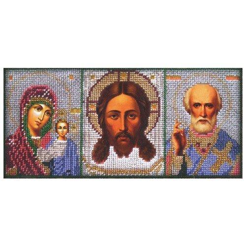Вышиваем бисером Набор для вышивания бисером Иконостас 12 х 27 см (L-18)