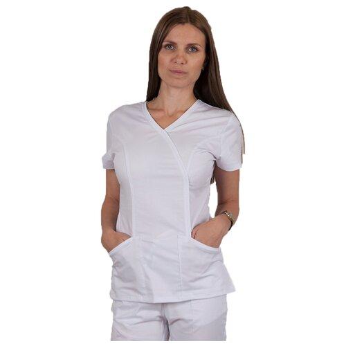 Медицинский топик женский Доктор Чехов 5121 White 54