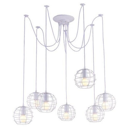 Люстра Arte Lamp A1110SP-7WH, E27, 420 Вт