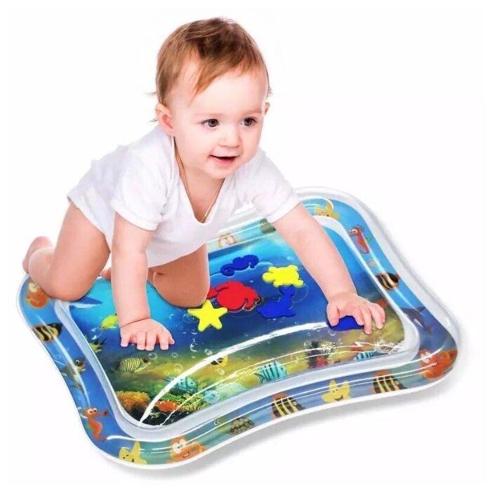 Купить Детский развивающий коврик для ванны с рыбками по низкой цене с доставкой из Яндекс.Маркета (бывший Беру) - Дарим детям