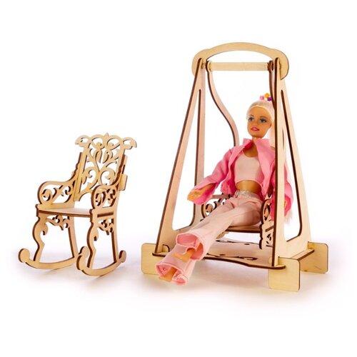 Конструктор теремок качалки для кукол типа barbie, Теремок, КМБ-6