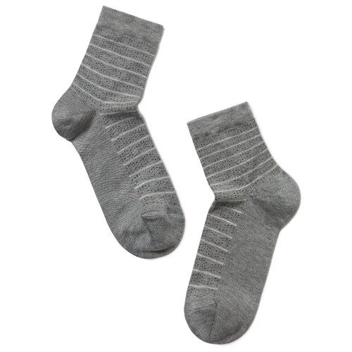 Носки Conte Elegant Comfort 14С-66СП 047, размер 25, серый