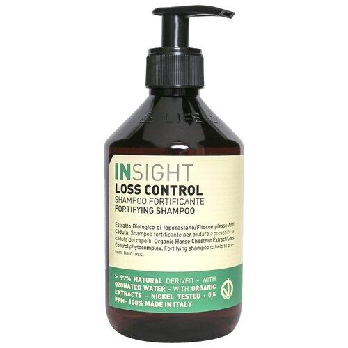 Insight шампунь Loss Control Fortifying Укрепляющий против выпадения волос 400 мл с дозатором